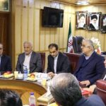 تلاش فرماندار رشت برای رفع مشکلات حوزهی بنیاد مسکن و امور زیربنایی