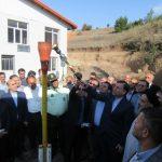 مشعل گازرسانی به ۲۸ روستای گیلان برافروخته شد